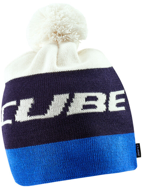 Cube Bobble hat Headwear blue/white